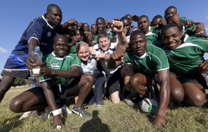 Brent Pope in Zambia