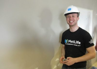MetLife Volunteer_Habitat for Humanity Ireland