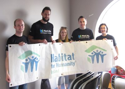 MetLife Volunteers_Habitat for Humanity Ireland