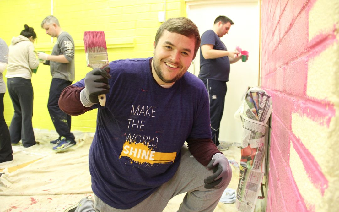A Brush With Kindness: Workday Volunteers